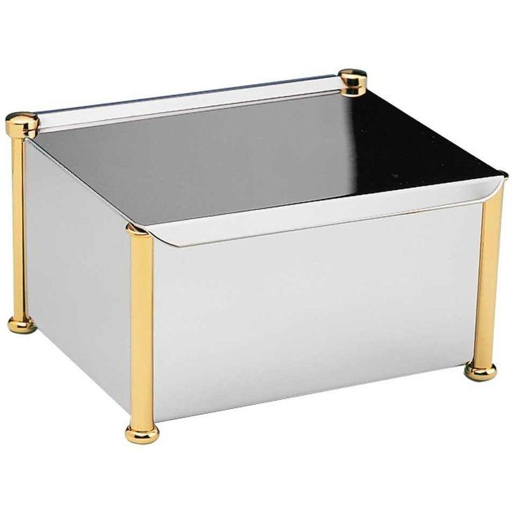 Rectangular Tissue Box Holder Cover Tray Dispenser Tissue Case for Bath W/ Lid