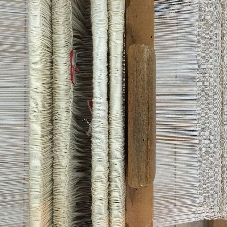 A 19th-century Loom. Courtesy of Mrs Alida Castellan, a terrific weaver from Salento, Puglia. Copyright: Palascia.