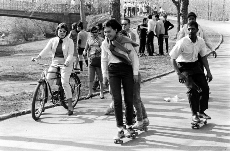 Skateboarding: Photos From the Early Days of the Sport and the Pastime - LIFE (Get it girl)