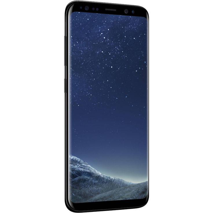 Brand New —Samsung Galaxy S8 SM-G950 – 64GB – Midnight Black (US Unlocked) – GSMKingpin.com