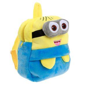 Piccolo ragazzo giallo asilo zaino zaino bambino cartoon in piccole classi per i bambini di età compresa tra 1-3 sacchetti peluche per la spalla di uomini e donne