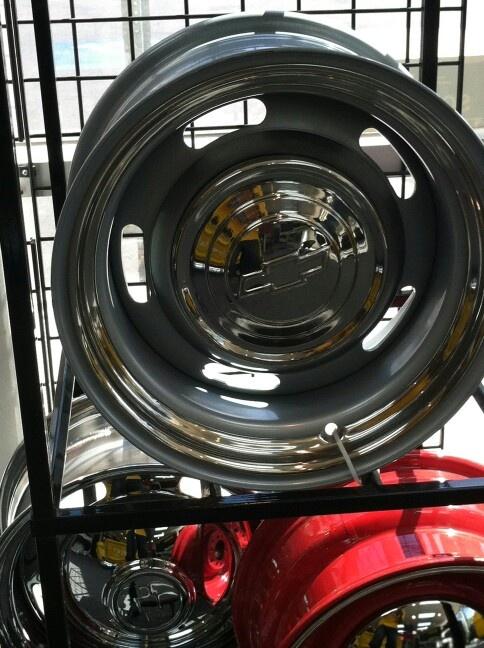 Chevy Rally Wheels 55 Chevy Truck Ideas Pinterest