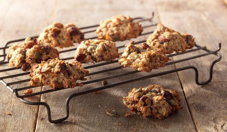 Biscuits aux flocons d'avoine recette saine - Becel.be