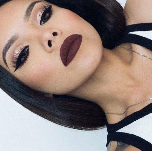 Kiss Makeup Looks: Best 25+ Dark Lipstick Makeup Ideas On Pinterest
