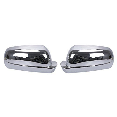 Espear left & right side Chrome Door Mirror Cover Caps for VW Golf MK4 Jetta Passat 1998 1999 2000 2001 2002 2003 2004  Made of durable high quality ABS plastic with chrome plating.  Color: chrome plating,Easy to install,direct replacement with no modification needed.  Installation Instruction Are Not Provided.Position place--left & right Side.  Professional Installation Recommended.  Note£ºPlease check and confirm this things fits yours before buying.