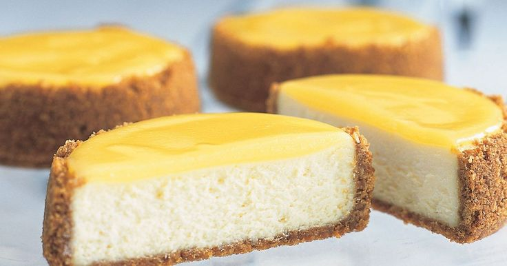 Looking for an indulgent treat with a little zing? Look no further than these perfect portion-sized cheesecakes!
