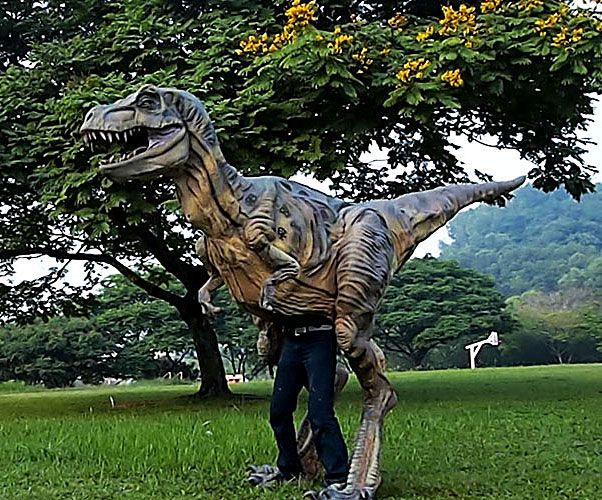 Most realistic Tyrannosaurus rex costume... Ever! - http://noveltystreet.com/item/9561/