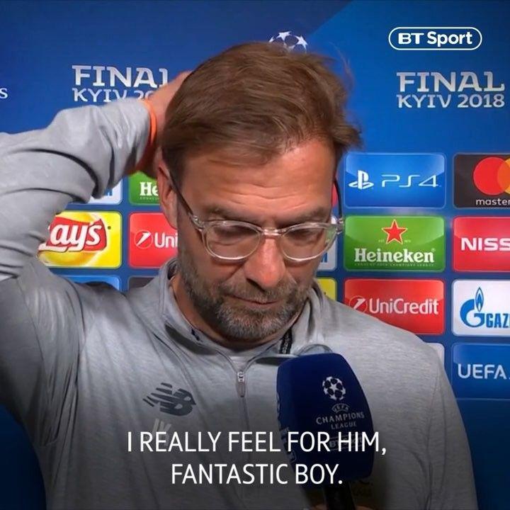 What Can I Say Jurgen Klopp Talks About Loris Karius Errors In Liverpoolfc S Championsleague Final Defeat Btsp Bt Sport Jurgen Klopp Finals
