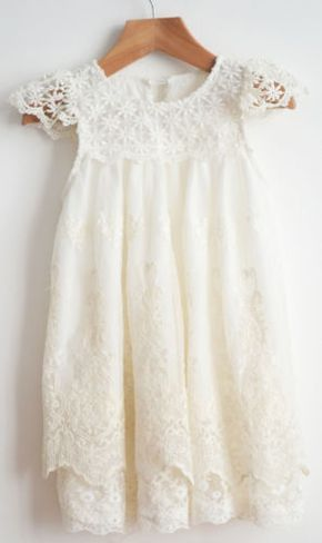 New-Flower-Girl-Dress-Princess-Vintage-Special-Occasion-Party-Wedding-Lace