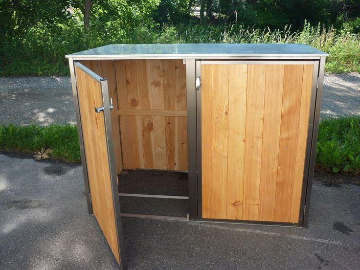 25 best ideas about m lltonnenbox on pinterest. Black Bedroom Furniture Sets. Home Design Ideas