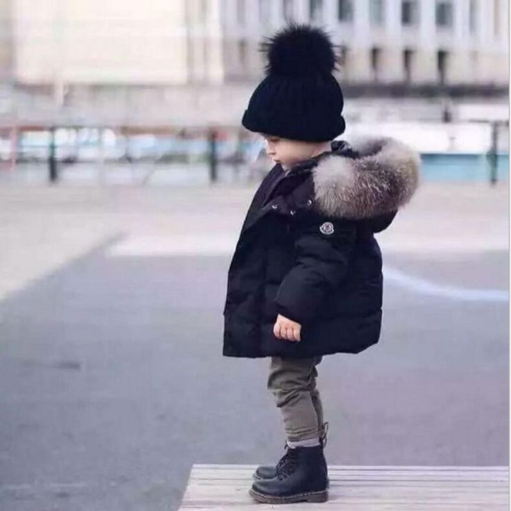 (37.12$)  Know more  - New Fashion Autumn Winter Boy Girls Coat Thicken Children Warm Cotton-Padded Clothes Cute Fit 2-8 Years Old Kids Clothes HL0742