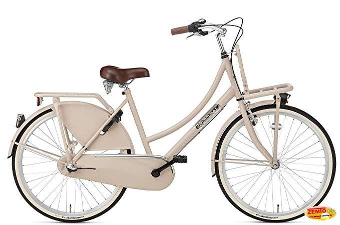 Plezier Damen Hollandrad 26 Zoll Ddb Cappuchino Mit Einem Hauch Altrose 3 Gang Amazon De Sport Freizeit Klapprad Hollandrad Fahrrad