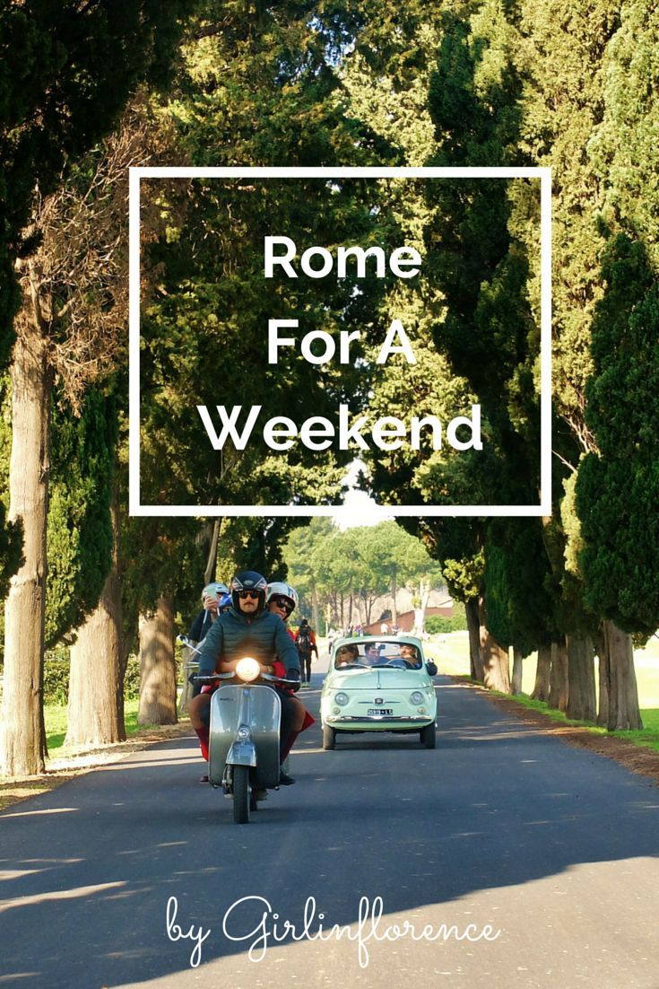 A weekend in Rome via Girl in Florence