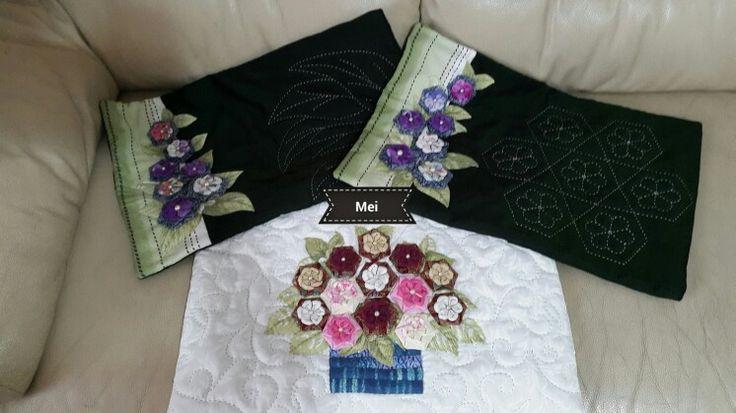 Origamiquilt cushion