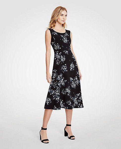 Ann Taylor Floral Dress