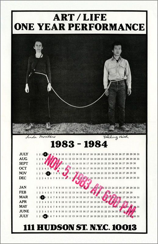 Tehching Hsieh - 1 year performance