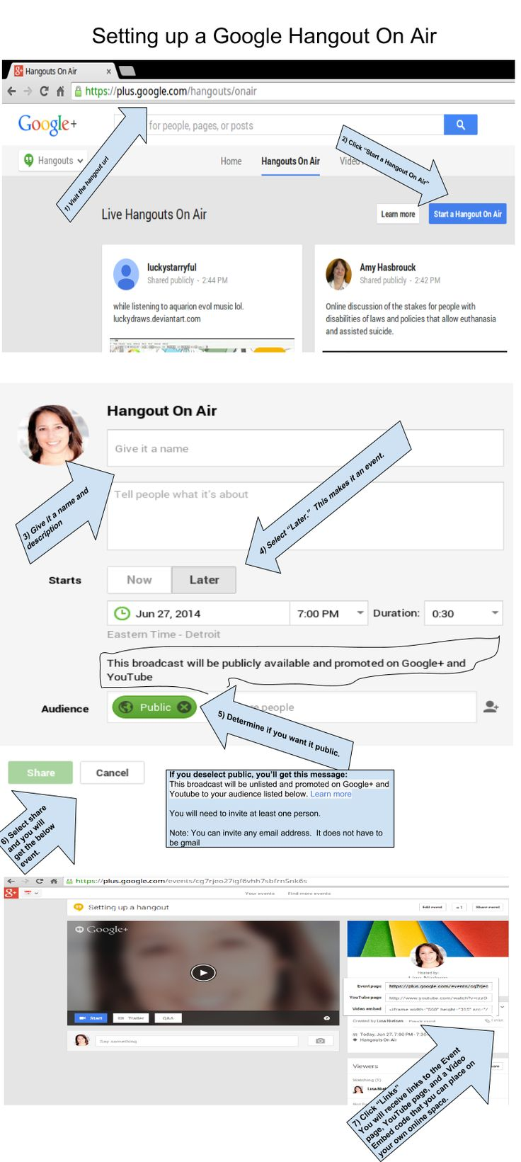 7 NotSoSimple Steps to Setting Up Google Hangouts on Air