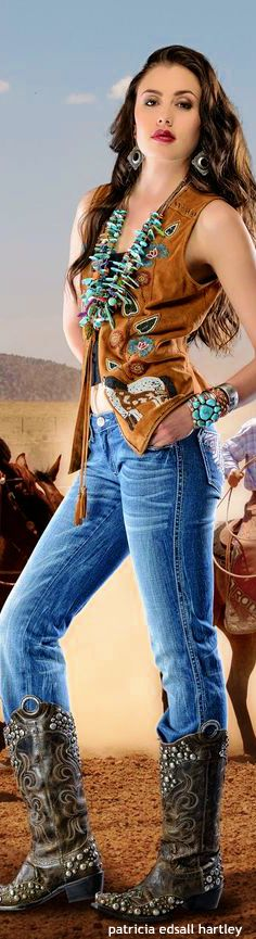 Cowgirl Style.