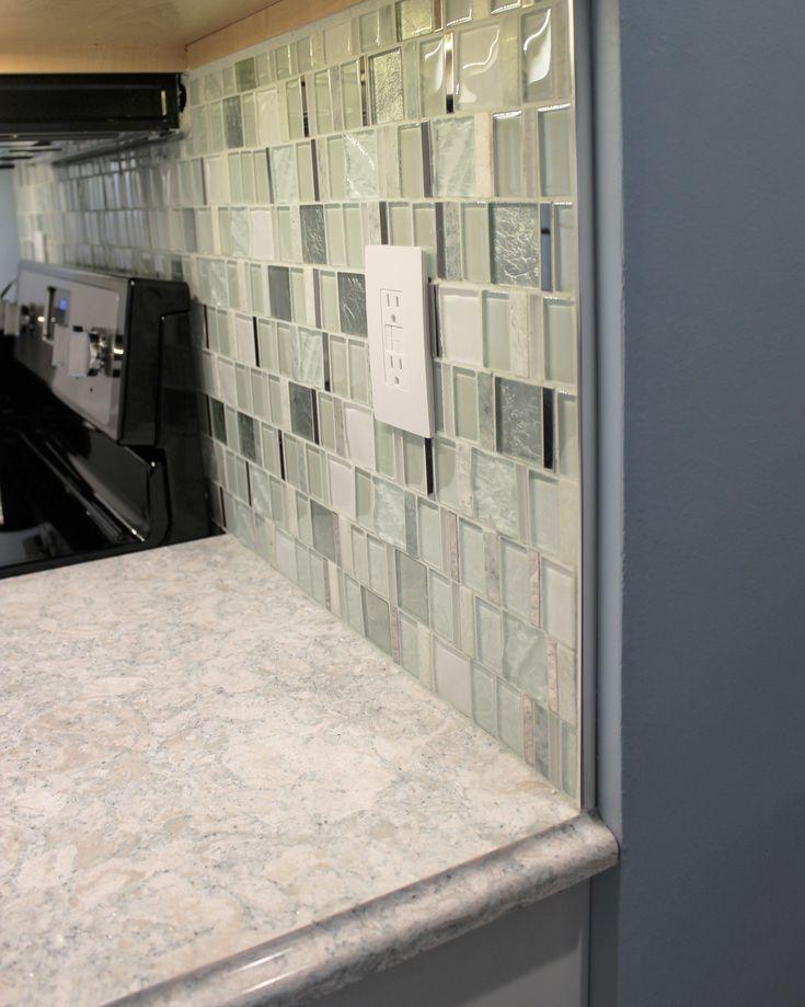 Metal End Cap Schluter Mosaic Kitchen Tile Backsplash
