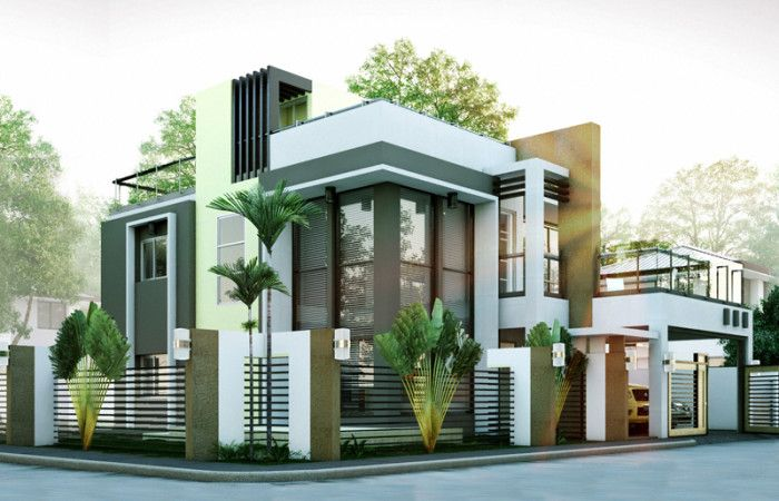 Modern House Designs Series: MHD-2014010 | Pinoy ePlans - Modern House Designs, Small House Designs and More!