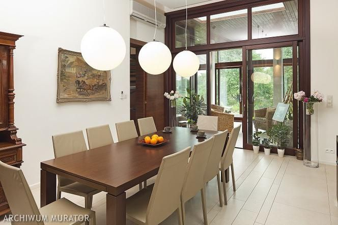 Jadalnia Jak Urzadzic 26 Aranzacji I Projektow Jadalni Z Kuchnia Z Salonem W Wykuszu Home Decor Home Furniture