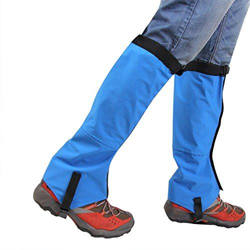 Hfuear Hiking Gaiters, Breathable Waterproof Walking High Leg Gaiters High Leg Gaiters Boot Shoes Cover for Research Climbing Fishing Hunting Trimming Grass   https://huntinggearsuperstore.com/product/hfuear-hiking-gaiters-breathable-waterproof-walking-high-leg-gaiters-high-leg-gaiters-boot-shoes-cover-for-research-climbing-fishing-hunting-trimming-grass/