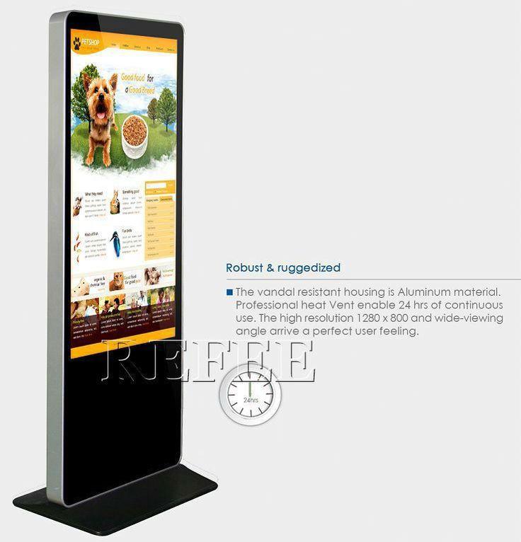 Toque de alta definição tv de tela plana para publicidade / digital signage totem-imagem-Reprodutores de publicidade-ID do produto:60216515228-portuguese.alibaba.com