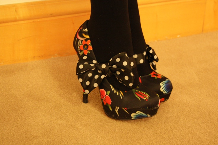 Tracy Falke's shoes! So Great, they deserve their own PIN!