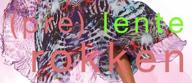 Damesmode rokken lente 2014 trends, in de nieuwe collectie rokken voor de komende lente, zien we lange rokken, witte rokken met zwarte lijnen en grote kleurige bloemen. http://www.pops-fashion.com/?p=8558
