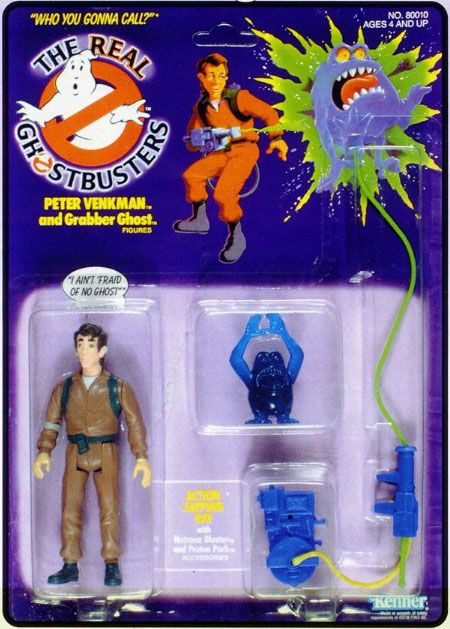 THE REAL GHOSTBUSTERS PETER SERIES 1 ACTION FIGURE