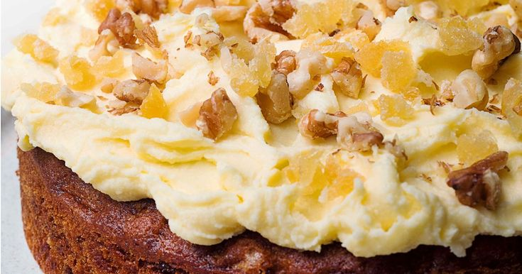 Nigella S Ginger And Walnut Carrot Cake