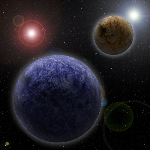 Planets done in Photoshop