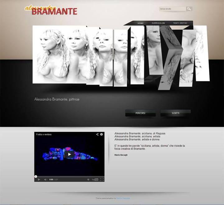 Website for artist Alessandra Bramante: www.alessandrabramante.com