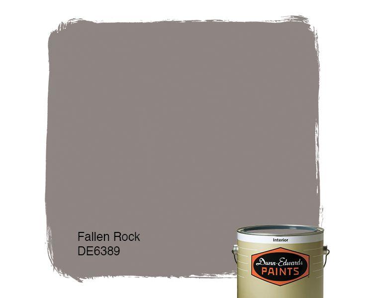 Dunn edwards paints paint color fallen rock de6389 for Dunn edwards paint colors