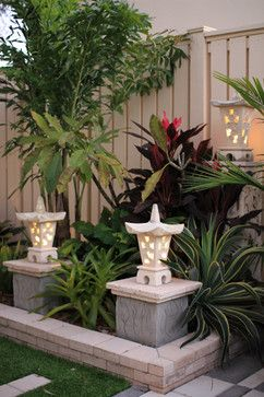 Here is a selection of our Outdoor Asian Lights. http://www.brilliantoutdoors.com/oriental-lights.html
