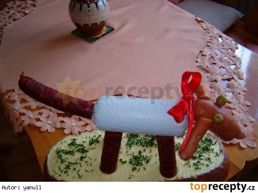 Jedlý dárek - pejsek :-)