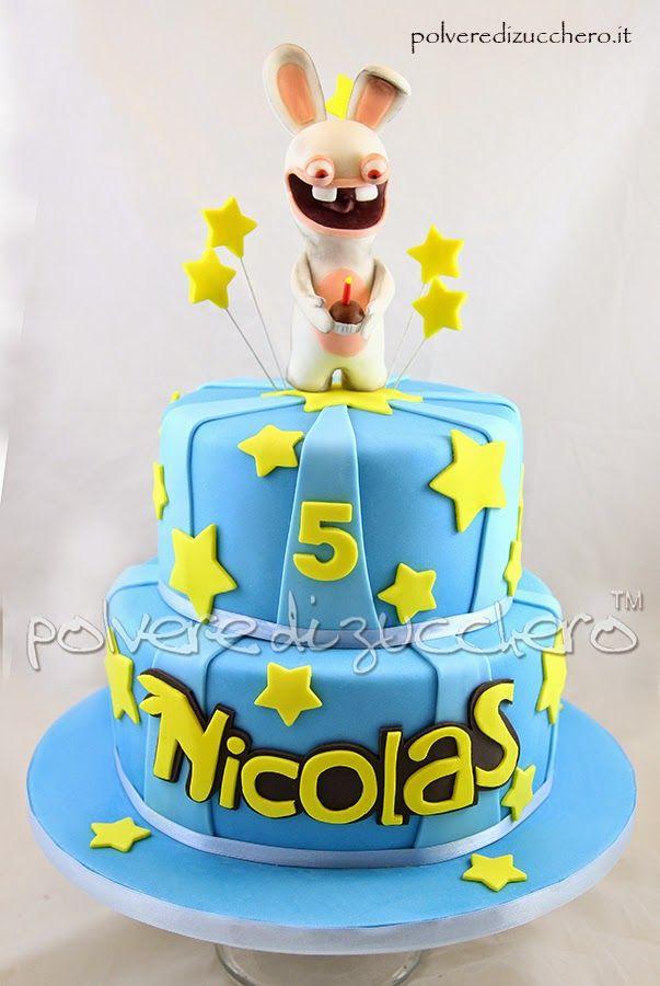 rabbids cake torta per il compleanno del mio bimbo