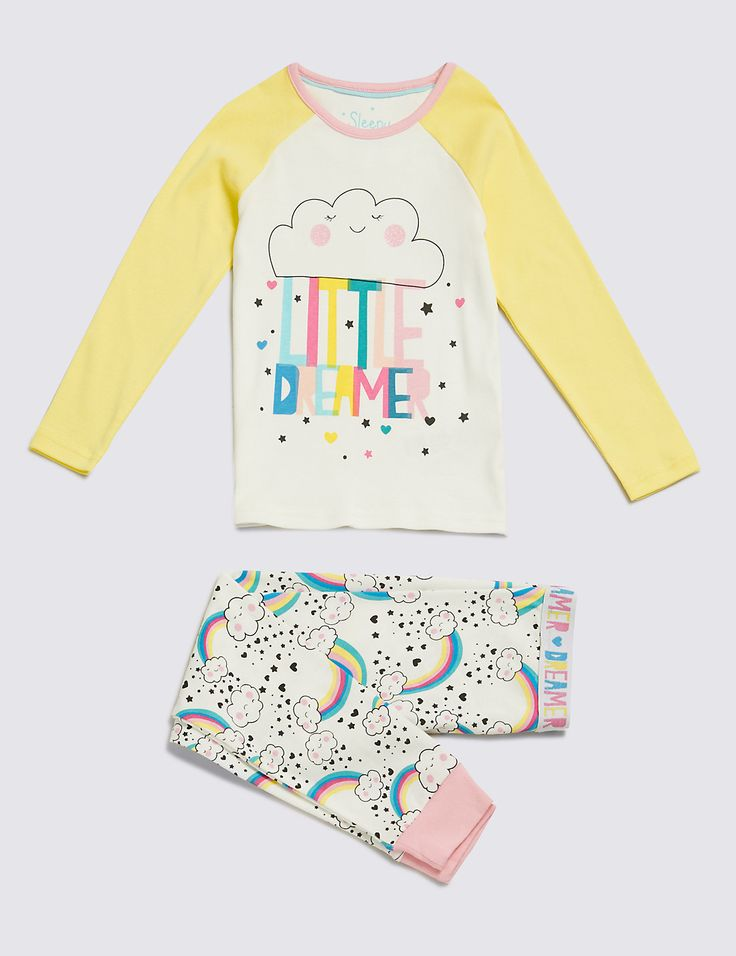 Pure Cotton Little Dreamer Stay Soft Pyjamas (1-8 Years)