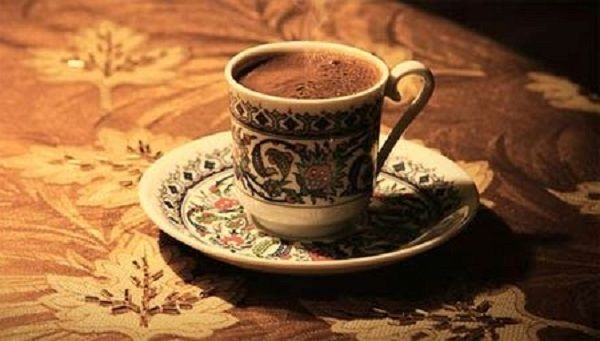 Festive coffee with spices