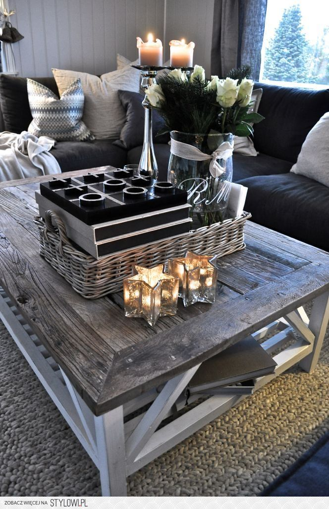 Coffee table - reclaimed wood <3