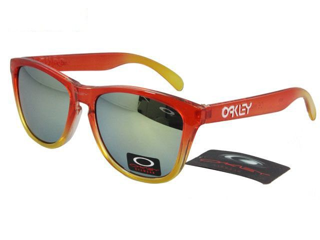 Oakley Frogskins Sunglasses crystal red-yellow frames yellow-blue Iridium on sale online, save up to 90% off being unfaithful limited offer, no duty and free shipping.#oakley #oakleysunglasses #sportsunglasses #sunglasses #ok #o