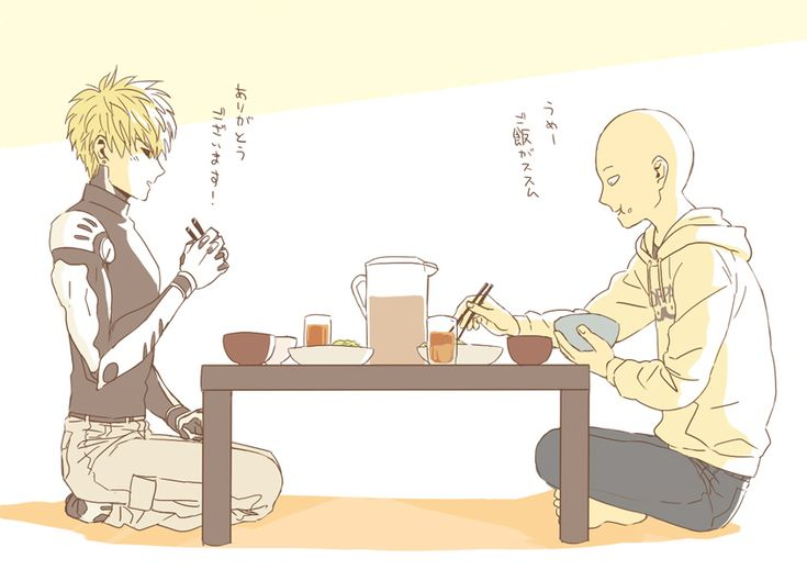 Tags: Fanart, Pixiv, Fanart From Pixiv, Pixiv Id 552656, Genos (One Punch Man), One Punch Man, Saitama (One Punch Man)