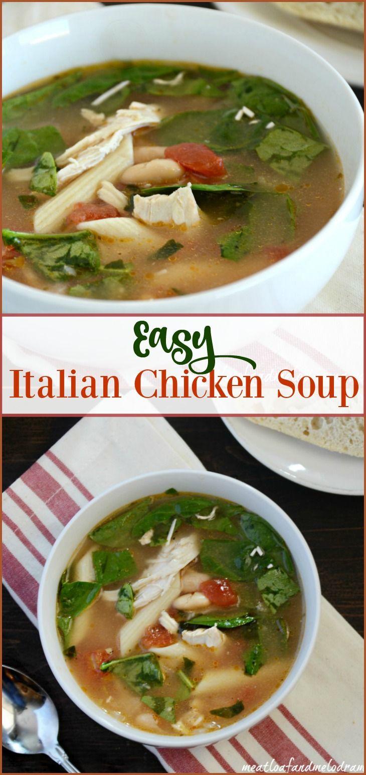 25+ best ideas about Italian Chicken Soup on Pinterest ...