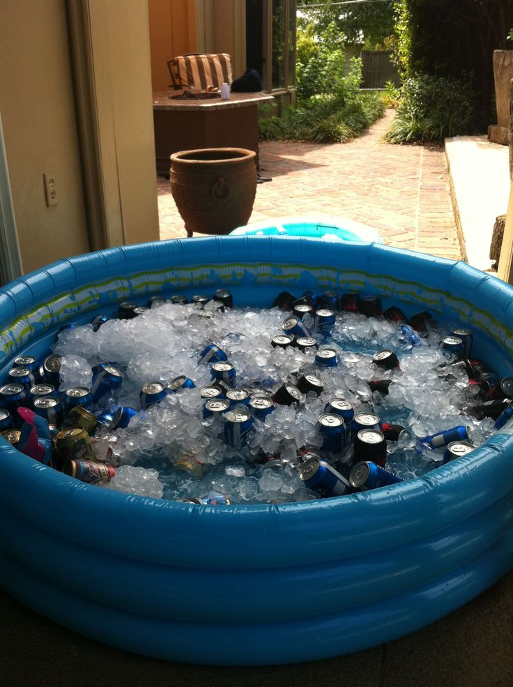 Pool party cooler visit for more info on for Garden pool party 2015