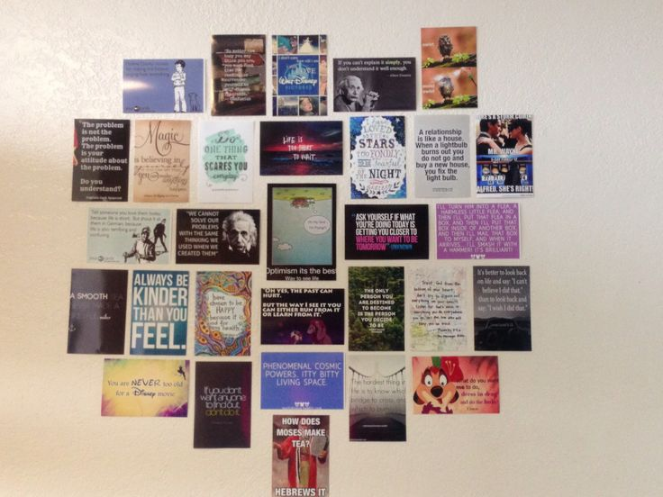 The Pinterest Wall!