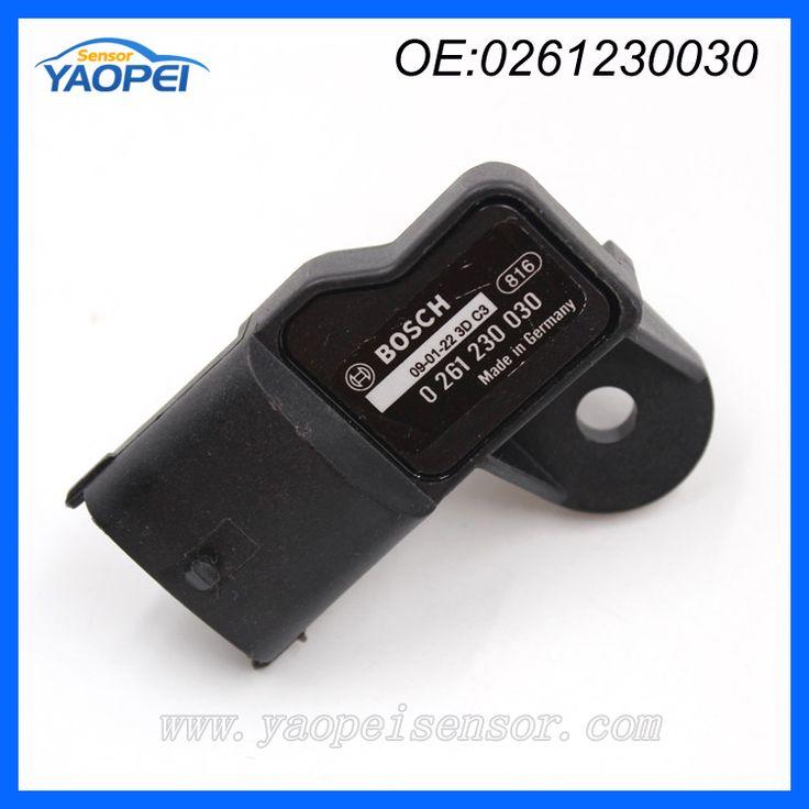 Original Map Sensor For FIAT 500 Brava Doblo Idea Panda Punto Siena Opel 0261230030 Auto Manifold Absolute Pressure