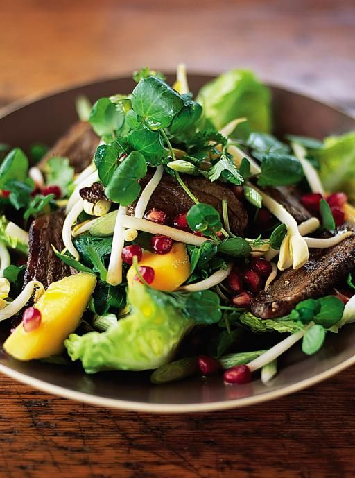 five spice duck salad - jamieoliver.com