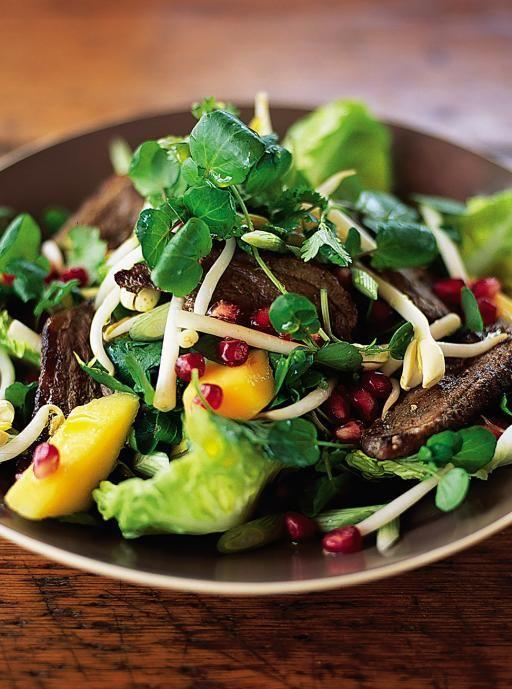 five spice duck salad - jamieoliver.com