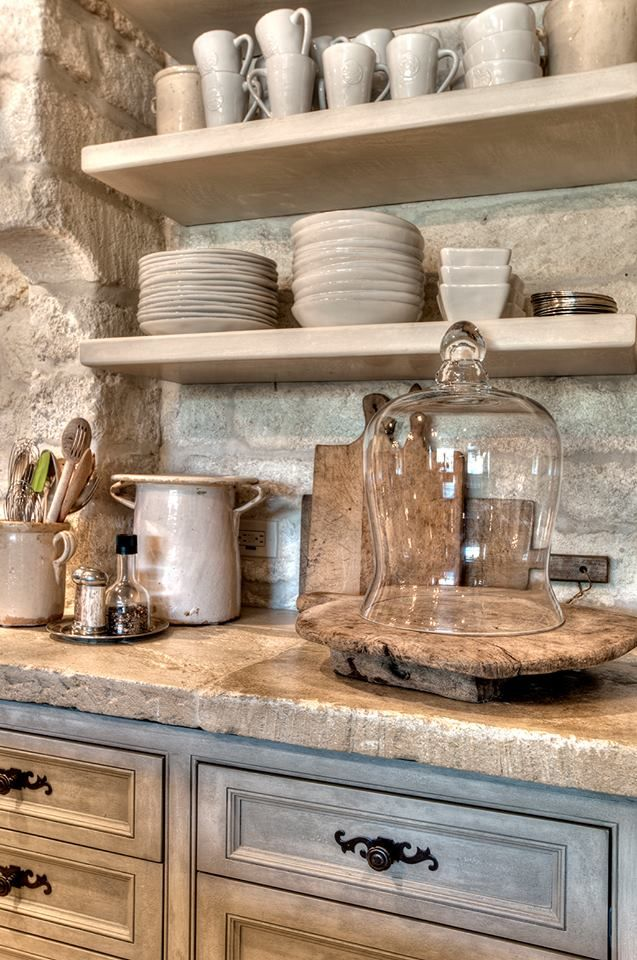 Rustic Kitchen Home Decor Pinterest Stones Love The And Rough Wood