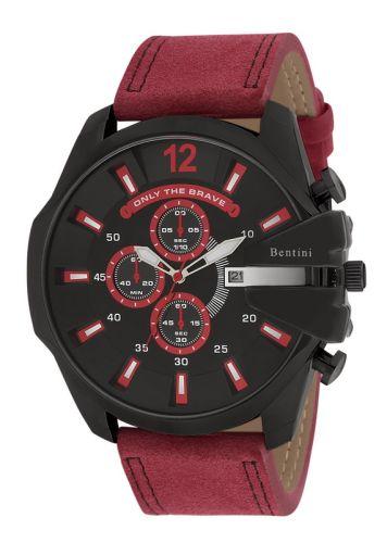 Ανδρικό Ρολόι με δερμάτινο λουράκι Bentini 14k142